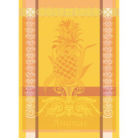 Garnier -Thiebaut L'Ananas Jaune Kitchen Towel