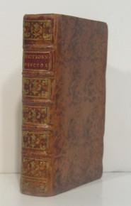 Rare geology book: Bertrand, Elie; Dictionnaire Universel des Fossiles Propres, et des Fossiles Accidentels. Contenant une Description Des Terres. Avignon, Louis Chambeau, 1763.