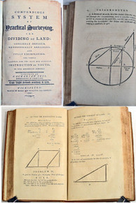 Book by Jess, Zachariah; A Compendius System of Practical Surveying and Dividing of Land. Wilmington Delaware: Bonsal and Niles, 1799.