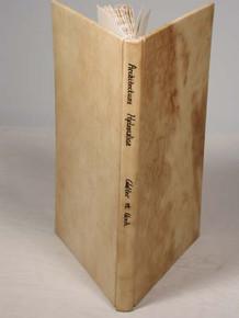 Rare science book by Walter, Caspar & Voch, Lucas; Architectura Hydraulica ober: Anleitunng zu denen Brunnenkunsten