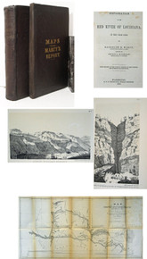 Western Americana Book, Marcy, Randolph B.; Exploration of the Red River