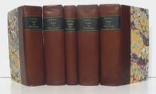 Rare Mineralogy Book, Pierre Dufrenoy, Traite  De Mineralogie, five volumes.