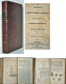 Rare Chemistry Book, Robert Hare; Course of Chemical Instruction, Univ. of Pennsylvania, 1828