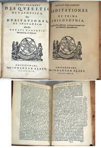 Rare science book, Gassendi, Pierre; Disquisitio Metaphysica seu Dubitationes et Instantiae Adversus Renati Cartesii Metaphysicam & Responsa. 1644