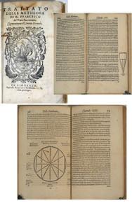 Rare science book,  Francesco de Vieri, Trattato delle Metheore di m. Francesco de' Vieri fiorentino, cognominato il Verino Secondo. Fiorenza, 1573