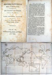 Rare Geology Book: Ordinaire, Claude Nicolas; Histoire Naturelle des Volcans, 1802.