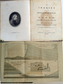 Rare Geology Book: Whitehurst, John; An Inquiry into the Original State and Formation of the Earth; Deduced from Facts and the Laws of Nature.