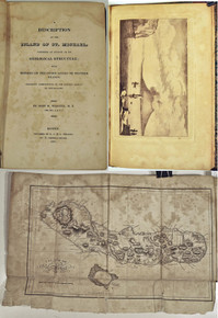 Rare geology book: Webster, John W.; A Description of the Island of St. Michael, Comprising an Account of its Geological Structure; with Remarks on the other Azores or Western Islands. 1821