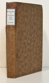 Rare Paleontology Book: Cuvier, Georges; Rozprawa O Prewratech Kury Zemnj, a o Promenach w ziwocistwu gimi zpusobenyc...1834