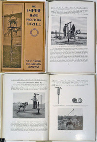 Rare Mining Equipment Catalog: The Empire Hand Prospecting Drill. New York Engineering Co., Designers and Builders of Gold Dredging Equipment. circa 1910.