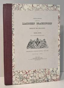 Rare Paleontology Book: Geyer, Georg; Über die liasischen cephalopoden des Hierlatz bei Hallstatt. 1889