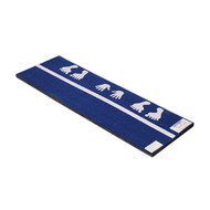Blue Carpet Flexible Cartwheel Mats - 2'x6'x1-3/8""