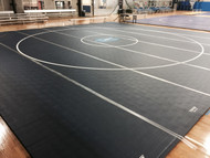 Competition Wrestling Mat - 42'x42'x1-5/8""