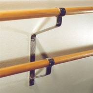 Wall-Mounted Double Ballet Bar