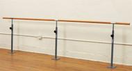 Single Floor Mounted Ballet Bar