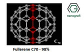 Fullerene-C70 Purity: 98%