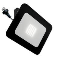 Mercator Vision 50w 4000K LED Slim Flood Light Black
