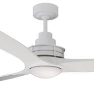 Mercator Flinders 140cm White Ceiling Fan & LED Light
