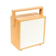 Brilliant Brunswick Retro Timber Table Lamp