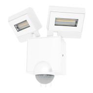 Mercator Cheetah 2 X 11w LED Exterior Spotlight & Sensor White