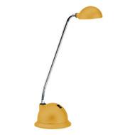 Brilliant Lolli 3w LED Desk Lamp Rubber Yellow
