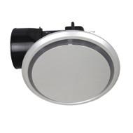 Mercator Novaline II Round/Round Silver Exhaust Fan Small