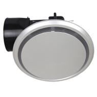 Mercator Novaline II Round/Round Silver Exhaust Fan Large