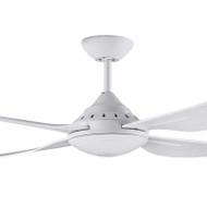 Deka Russell 120cm White Plastic Indoor/Outdoor Ceiling Fan