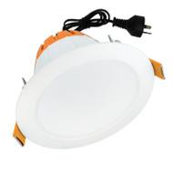Telbix Domo 10w 3000K LED Down Light White