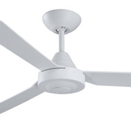 Deka Hawk 120cm White Plastic Indoor/Outdoor Ceiling Fan