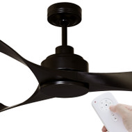 Mercator Eagle DC Motor 140cm Black & Remote Ceiling Fan