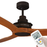 Mercator Flinders 140cm Oil Rubbed Bronze Ceiling Fan With LCD Remote