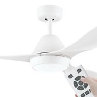 Eglo Nevis DC Motor 132cm White LED Light & Remote Ceiling Fan