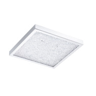Eglo Cardito 19w LED Crystal Square Ceiling Light 4200K