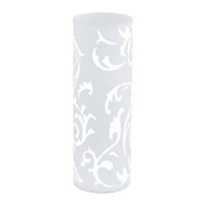 Eglo Geo Frosted Pattern Glass Table Lamp