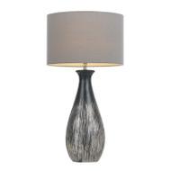 Telbix Tamar Silver & Grey Table Lamp