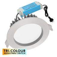 Mercator Optica Trio 10w TRI-COLOUR LED Down Light B/Chrome