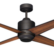 Mercator Pisa 110cm Bronze Motor Timber Blade Ceiling Fan