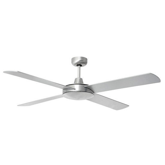 Image 1  sc 1 st  Galaxy Lighting Cairns & Brilliant Tempest 130cm Silver Timber Ceiling Fan - Galaxy Lighting