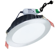 Envirostar Flat 100 12w 3000K LED Down Light Nickel