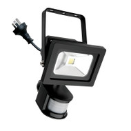 Mercator Lorne 15w 5500K LED Flood Light & Sensor Black