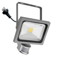 Mercator Lorne 30w 5500K LED Flood Light & Sensor Silver
