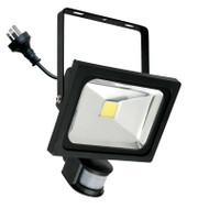Mercator Lorne 30w 5500K LED Flood Light & Sensor Black