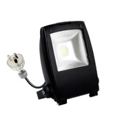 Atom AT7001 10w 5000K LED Flood Light Black