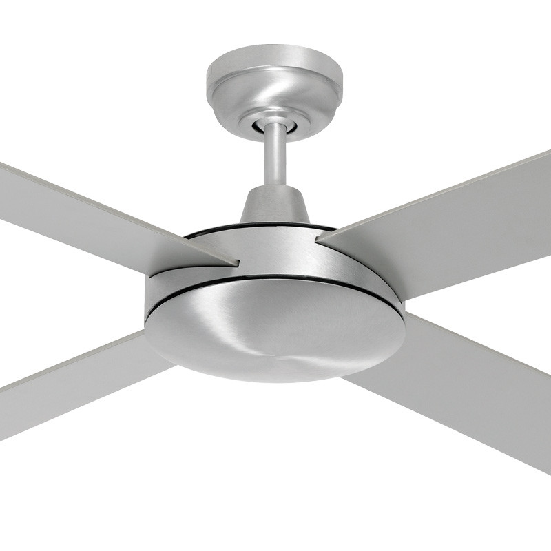Mercator Ca 130cm Silver Motor Reversible Timber Blades Ceiling Fan Galaxy Lighting