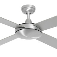 Mercator Caprice 130cm Silver Motor & Reversible Timber Blades Ceiling Fan