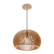 Mercator Cuzco Timber Hanging Pendant Medium