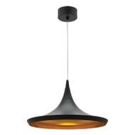 Mercator Aiden 15w LED Hanging Pendant Black