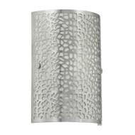 Eglo Almera Brushed Metal Pattern Wall Light