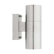 Cougar Oslo GU10 Exterior Up/Down Wall Light 316 Stainless Steel